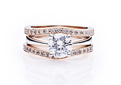 Ling Jewellery Classy Wedding Bands Engagement Ring